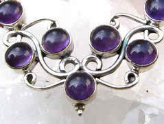 February birthstone, amethyst