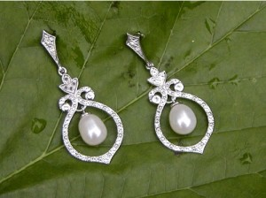 Vintage Pearl Earrings By Blue Nile